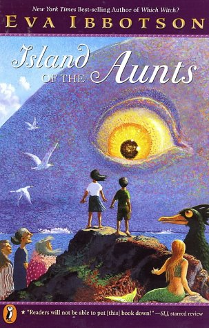 island of the aunts book report The island's caretakers--three eccentric, kindly aunts who are getting on in years--need younger, able-bodied helpers to continue their mission: tending the injuries of unusual creatures (gigantic .